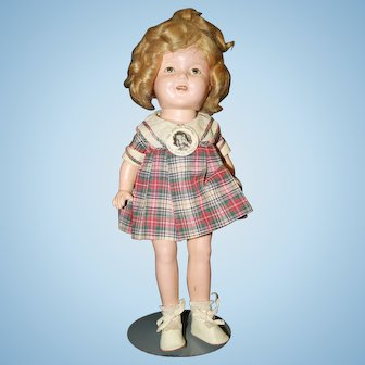 "13"" Shirley Temple c1935"