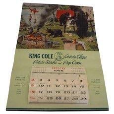 1966 Advertising Calendar