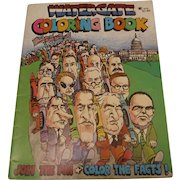 Watergate Coloring Book