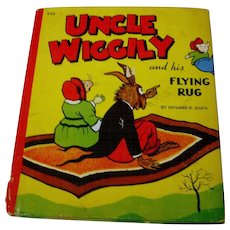 Children's Book, Uncle Wiggily and his Flying Rug