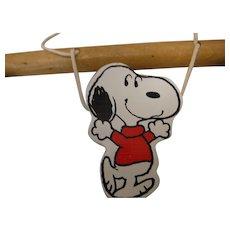 Snoopy Crib Exerciser