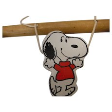 Snoopy Crib Exerciser