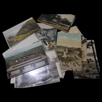 Vintage Location - Travel Post Cards