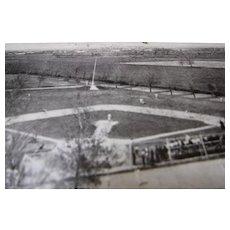 Vintage Baseball Photo Post Card