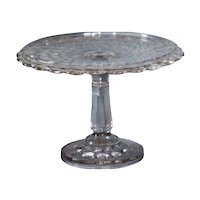 EAPG McKee High Standard Cake Stand Yale or Crow Foot