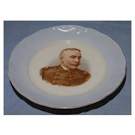 West End Pottery Admiral Dewey Commemorative Plate