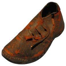 Antique Handsewn Boy's Leather shoe