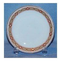 H & Co Bavaria porcelain butter pat