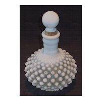 Opalescent Rose Water or Cologne Dresser Bottle.