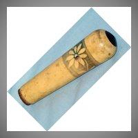 Old decorative barrel stopper or plug