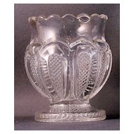 U.S. Glass States Series Texas Toothpick Holder
