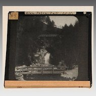 Set of 5 Assorted Travel Lantern Slides