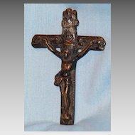 Brass crucifix