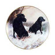 Winter Watch Collector Plate by John Trickett