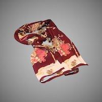 Liz Claiborne 100% silk rectangular scarf