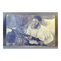 Blue tint Wallace Beery  Arcade Card Paramount Pictures