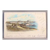 1908  Postcard Eads Bridge  Mississippi River St. Louis, Mo.  undivided back