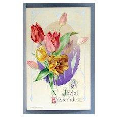 1910 John Winsch A Joyful Eastertide with colorful tulips
