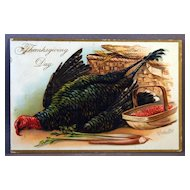 Tuck's Thanksgiving Day Post Cards Series 123