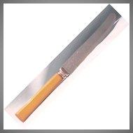 Butterscotch Bakelite handled knife