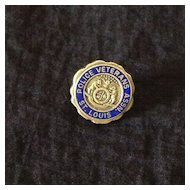 St. Louis Police Department Veterans Association pin