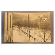 Unused RPPC of flooded city street