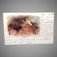 1906 Postcard undivided back  Ten Minutes For Lunch