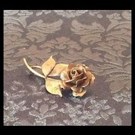HSB 1/20 12K Gold Filled rose pin