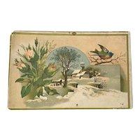 Victorian Trade Card  Dr. Blank's Black Medicine