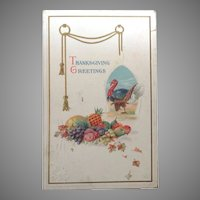 1914  Thanksgiving Greetings