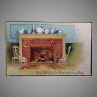 1907 Good Wishes for Thanksgiving Day