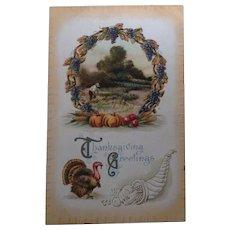 1910 Thanksgiving Greetings