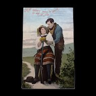 1909 Wild West Theme Cowboy and Cowgirl Romance