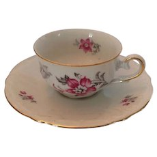 IJB Germany US Zone porcelain cup and saucer