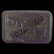Vintage Snap-on Tools belt buckle by Creative Specialties