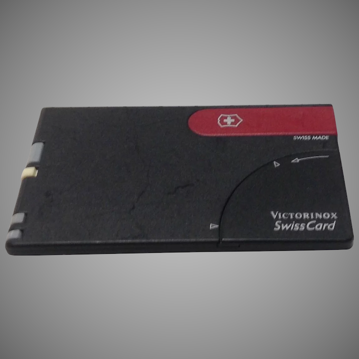 Victorinox Swiss Army Card Credit Mulool Knife First Generation