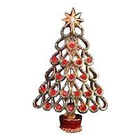 Christopher Radko Christmas Tree Pin