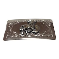 Rodeo Cowboy motif belt buckle