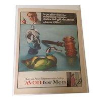 1967 Avon for Men advertising from Life Magazine