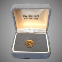 Tie Tac duck taking flight  from The Mallard Collection