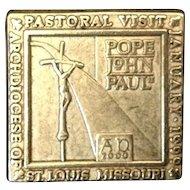 Pope John Paul II Pastoral Visit St. Louis Missouri 1999 Collector Pin