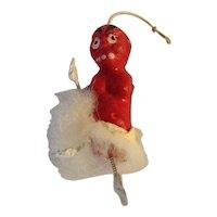 Spring Leg Devil or Goblin Ornament Japan