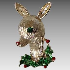 Vintage Gerry's Rudolph the Red Nosed Reindeer Christmas Pin