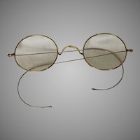 Gold Filled Vintage Wire Rimmed Glasses