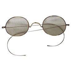 885547225f4 Vintage Gold Filled Rimmed Wire Eye Glasses   Best Kept Secrets ...