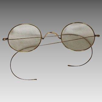 Gold Filled Vintage Wire Rimmed Glasses