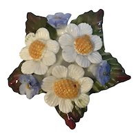 Aynsley Bone China Flower Brooch England