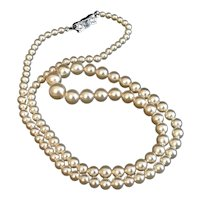 Marvella Single Strand Simulated Pearl Necklace