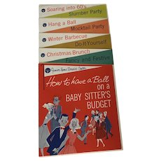 """""""How to Have a Ball on a Baby Sitter's Budget"""" Pillsbury Junior Home Service Center 1959"""