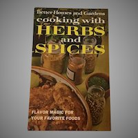 Cooking with Herbs and Spices, 1967 Better Homes and Gardens